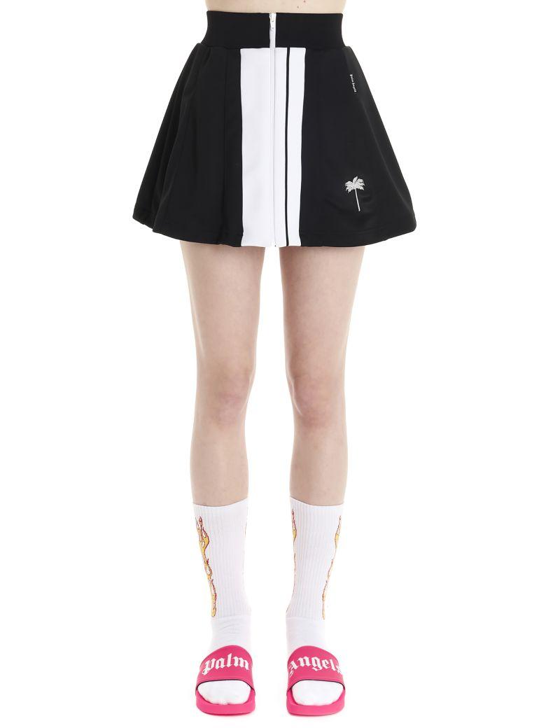 Palm Angels 'track' Skirt - Black&White