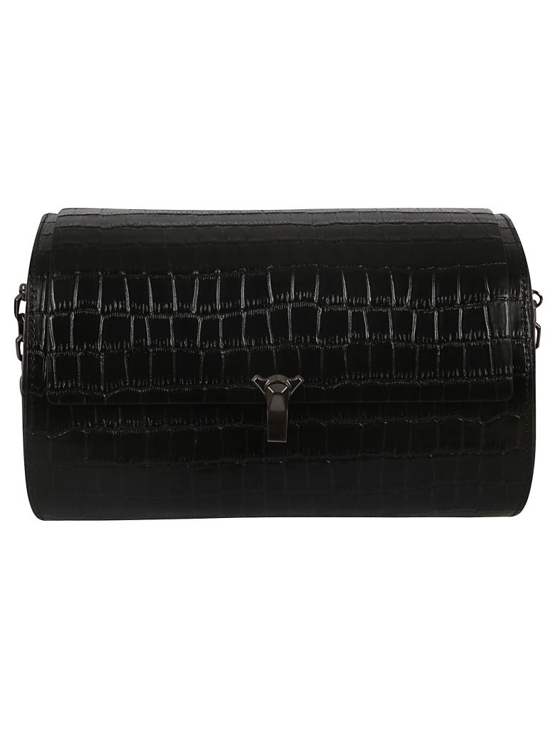 the VOLON Po Trunk Shoulder Bag - Black