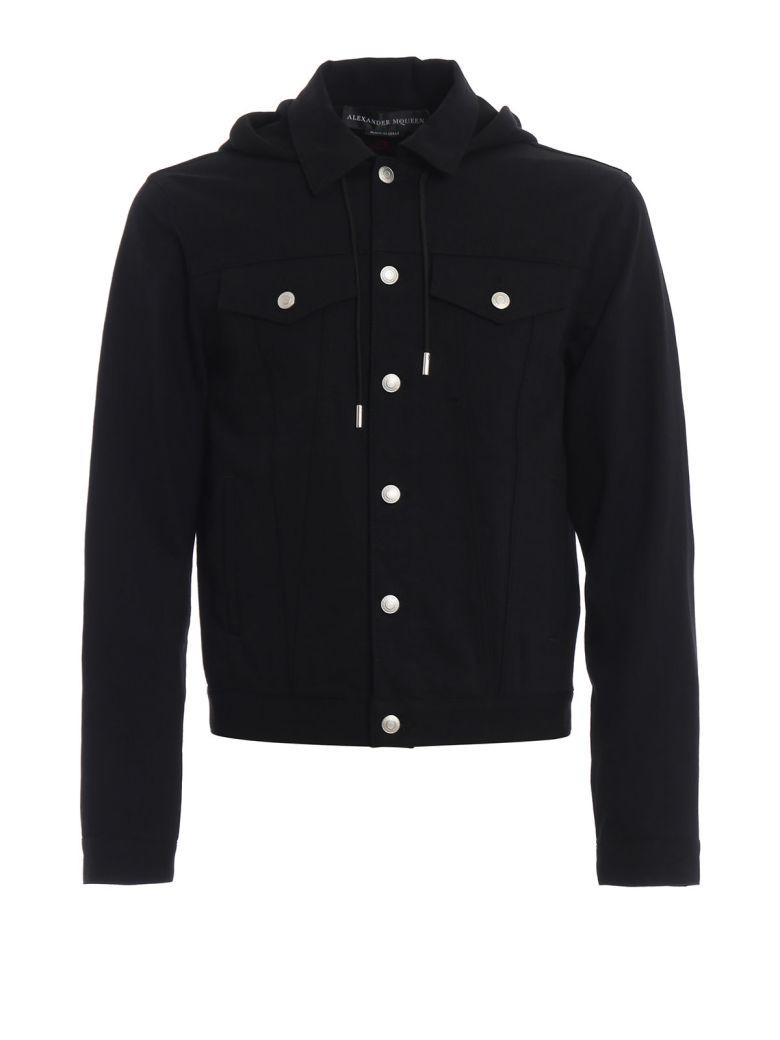 Alexander McQueen Hooded Jacket - Black
