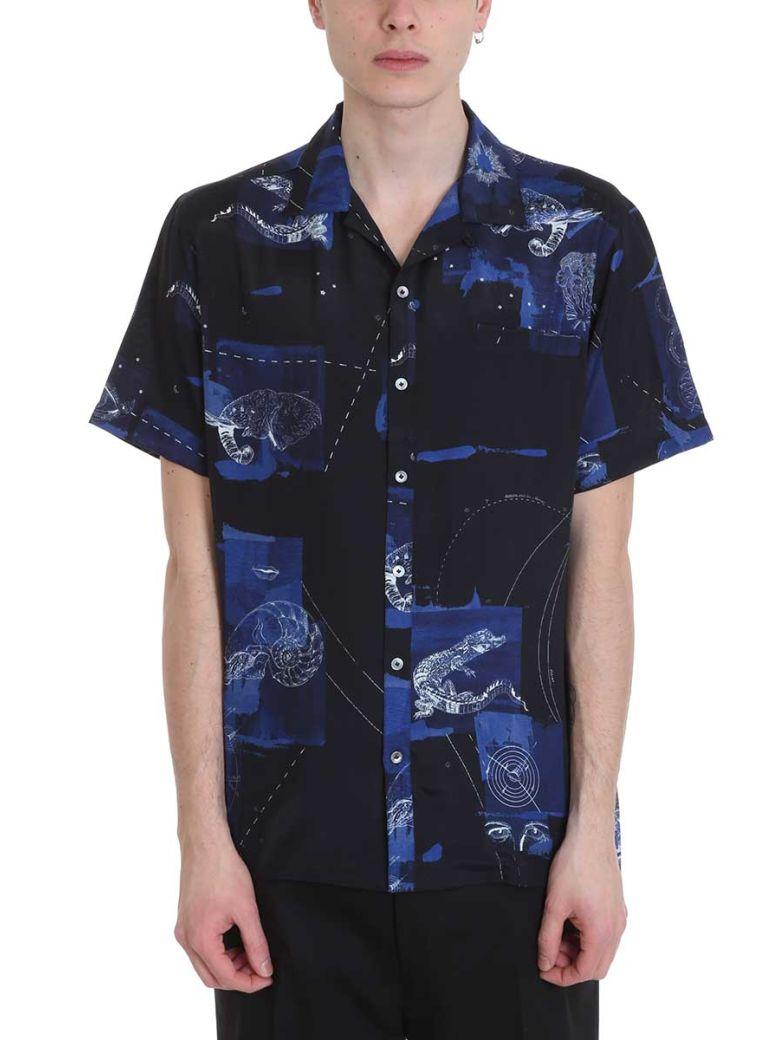 Lanvin Blue Multicolor Viscose Shirt - blue