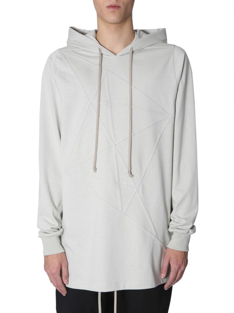 Rick Owens Hooded Sweatshirt - GRIGIO