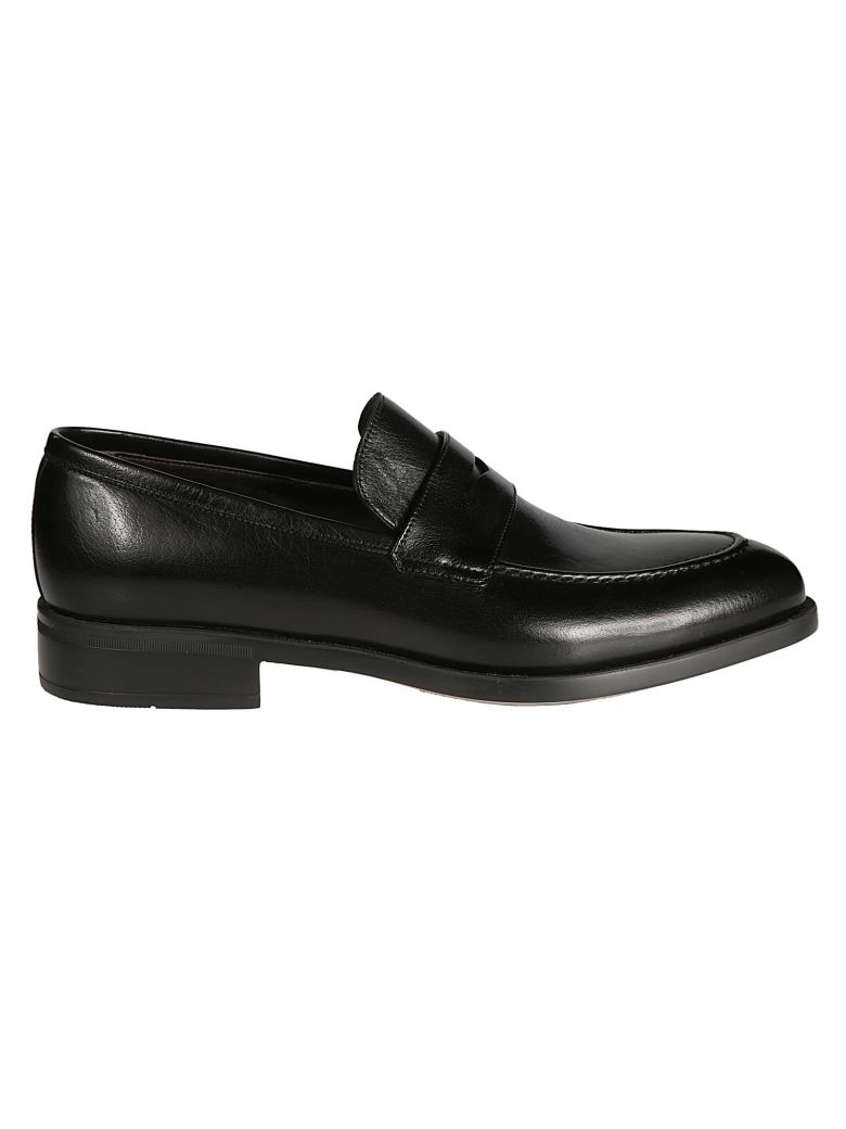 Moreschi Buffalo Loafers - Black