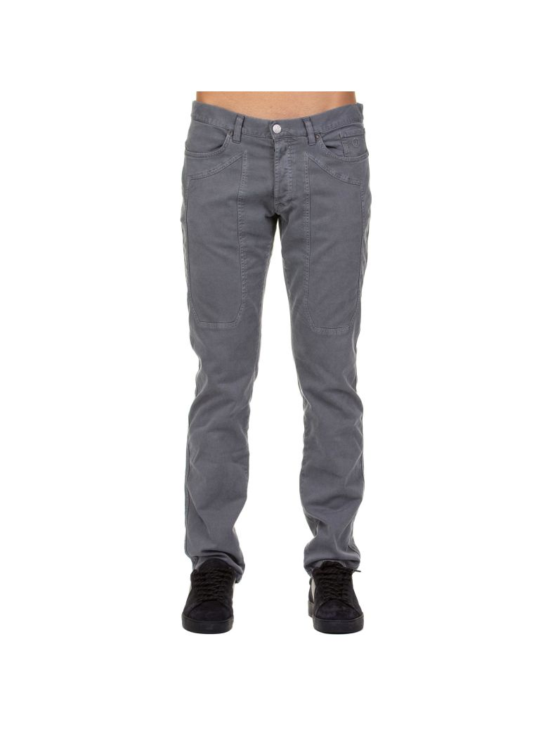 Jeckerson Jeckerson Cotton Stretch Jeans - GREY
