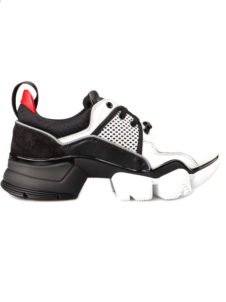 Givenchy Two-toned Jaw Low Sneakers - Black/white