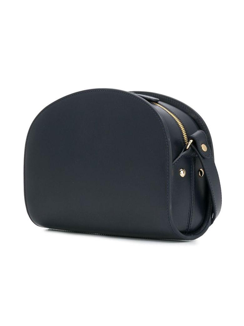 A.P.C. Half Moon Shoulder Bag - Iak Dark Navy