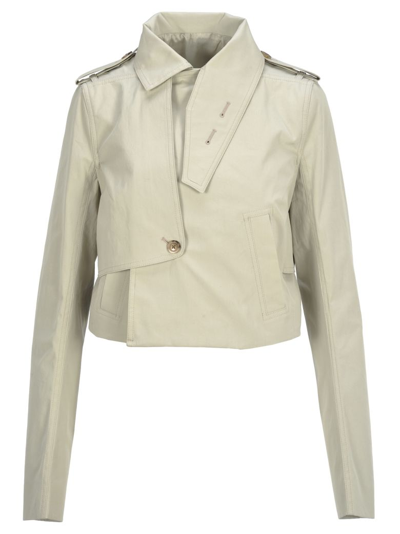 Rick Owens Short Trench - OYSTER