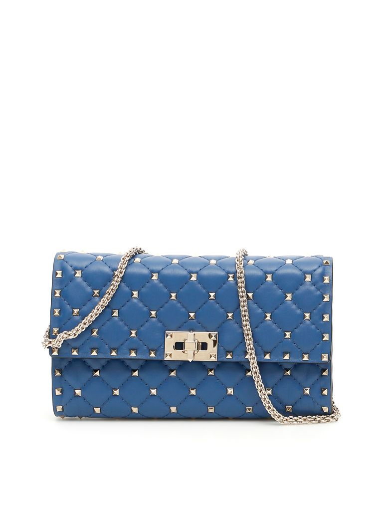 Valentino Garavani Rockstud Spike Bag - BALTIQUE (Blue)