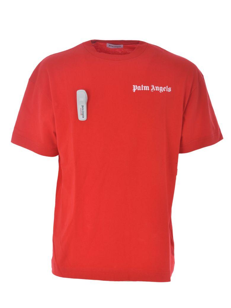 Palm Angels Logo T-shirt - Red