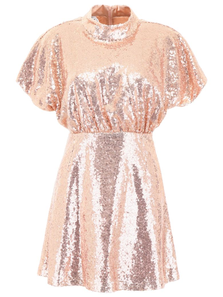 In The Mood For Love Sequins Shannon Mini Dress - BRONZE (Gold)