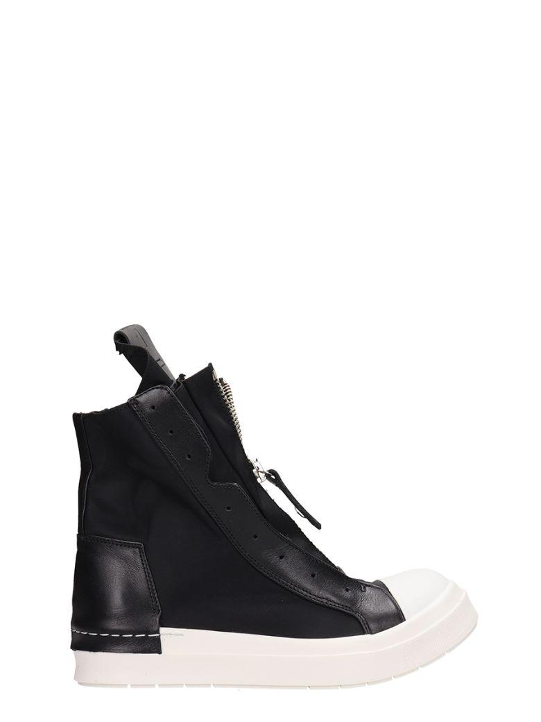 Cinzia Araia Zipped Hi-top Sneakers - black