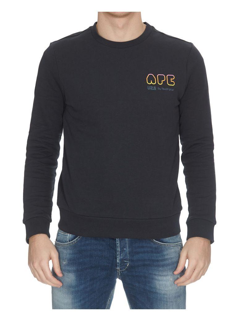 A.P.C. Rainbow H Sweatshirt - Blue