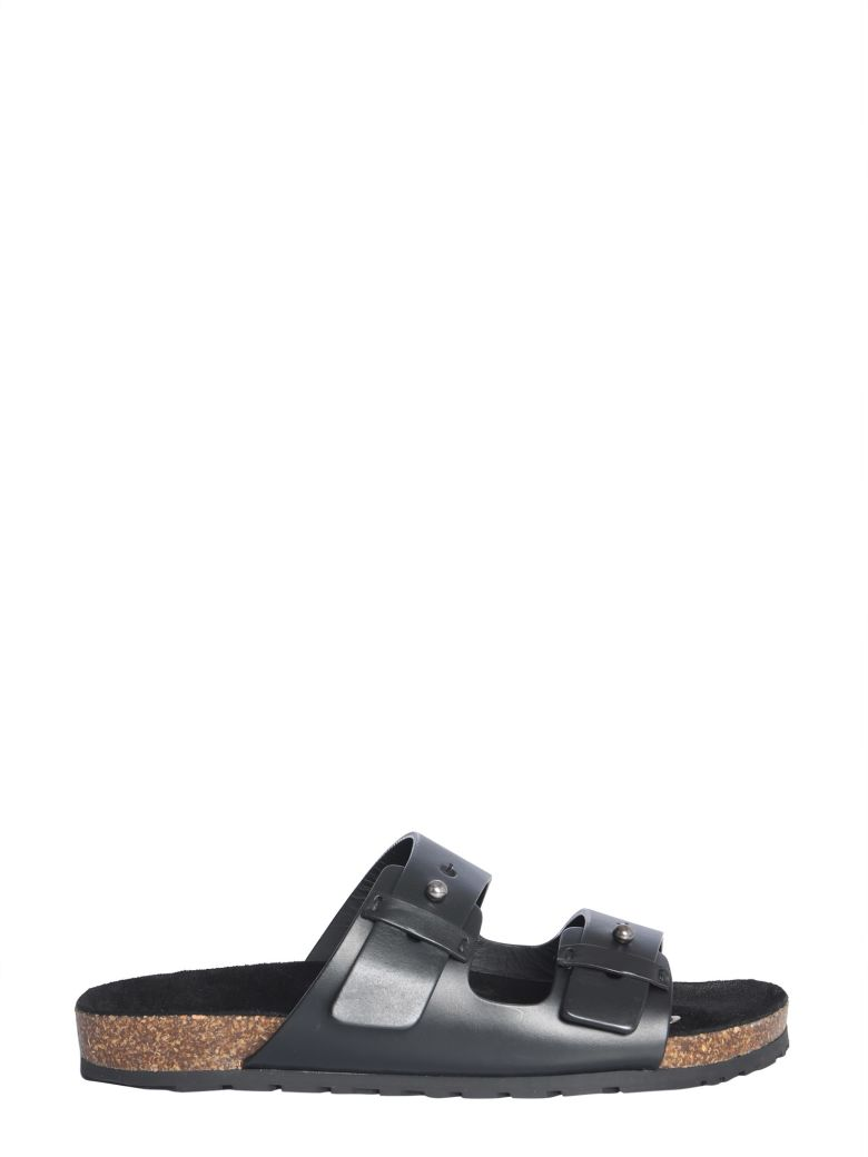 Saint Laurent Jimmy Sandals - NERO