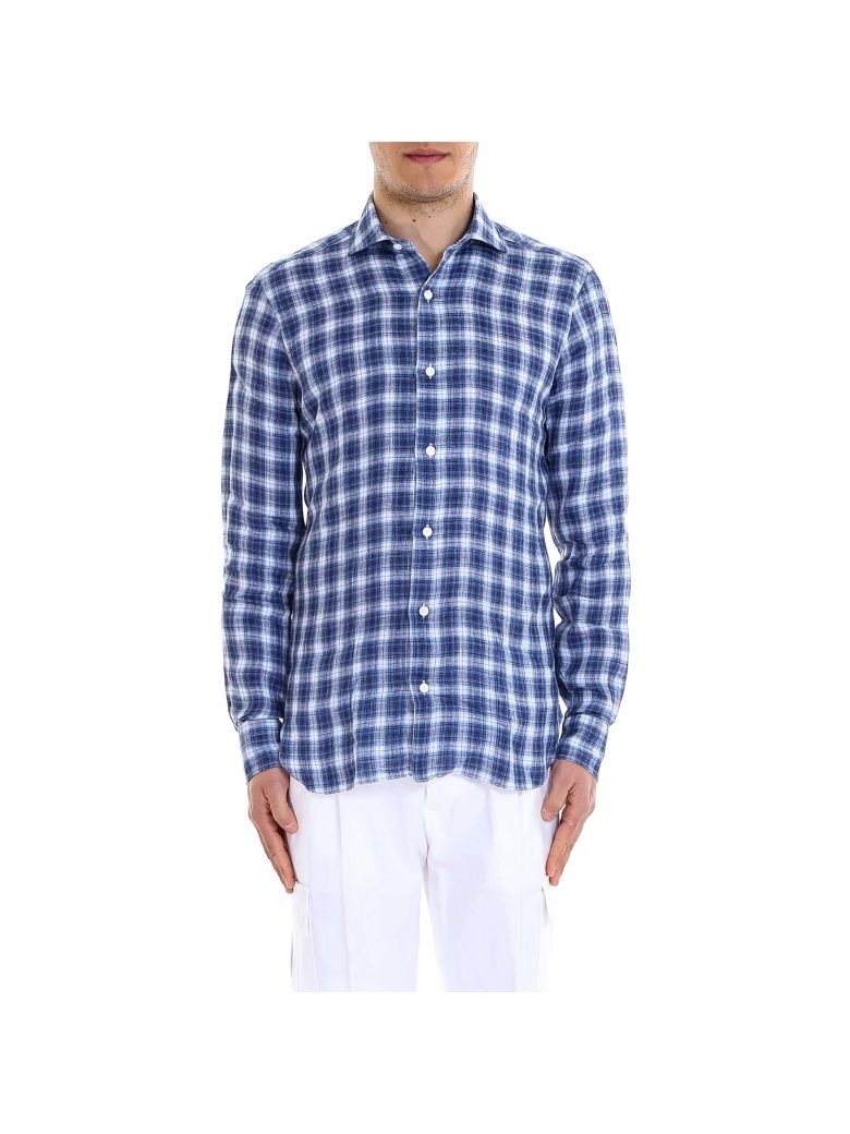 Barba Napoli Shirt - Blue