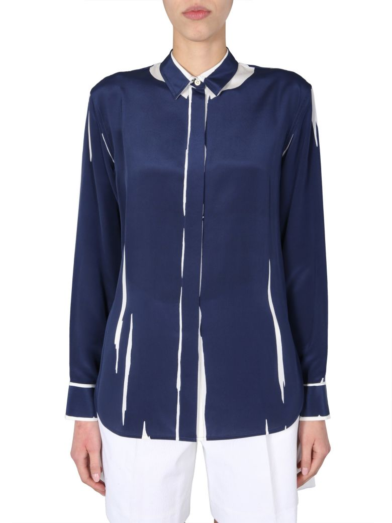 Paul Smith Long Sleeve Shirt - Blu scuro