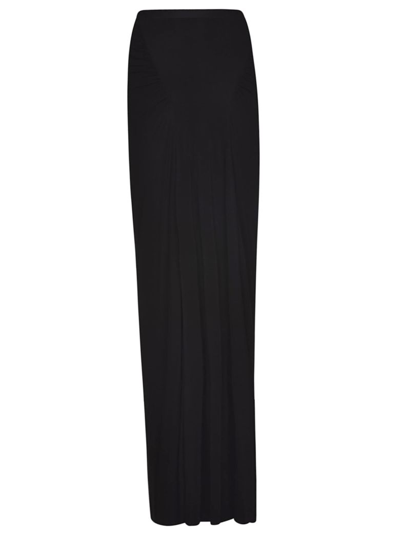 Rick Owens Lilies High Waist Skirt - Black