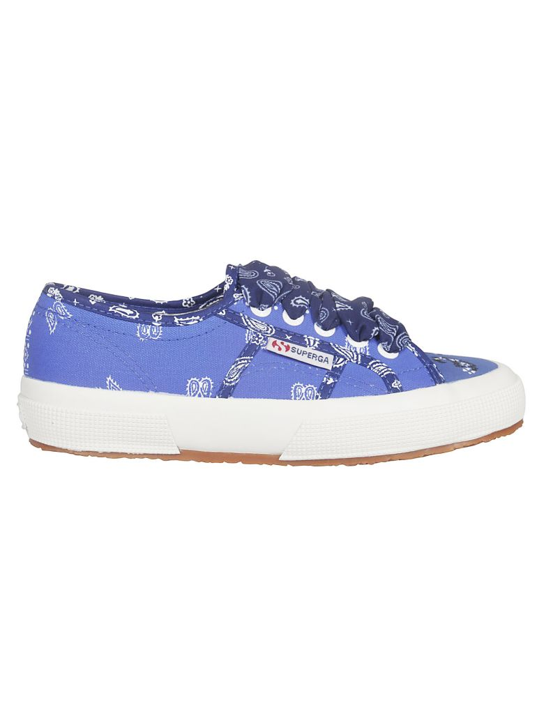 Alanui Bandana Sneakers - Blue