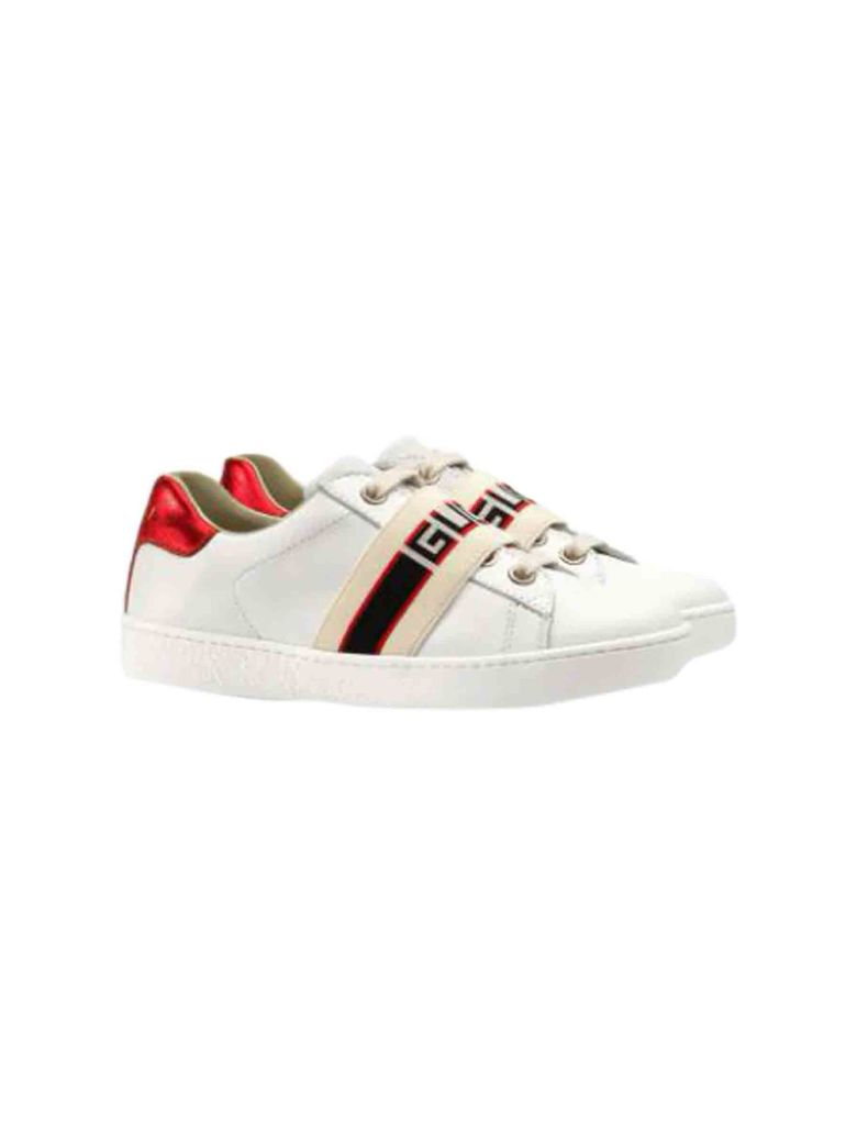 Gucci Gucci Ace Sneaker With Ribbon