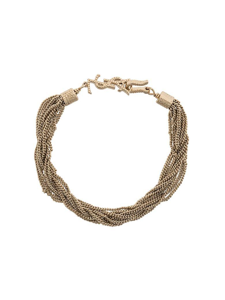 Saint Laurent Gold Bracelet - GOLD