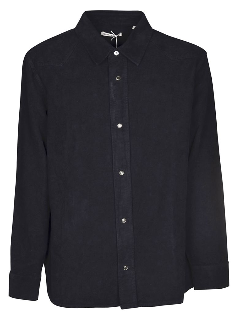 Our Legacy Fine Frontier Shirt - Black