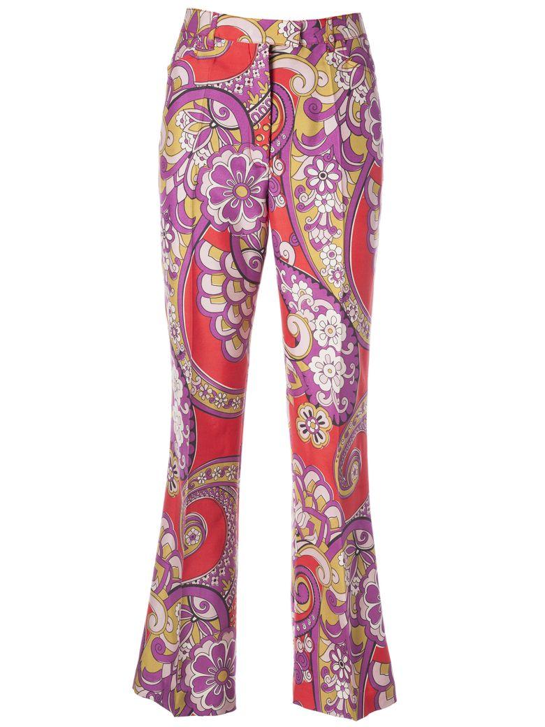 Etro Printed Trousers - Basic
