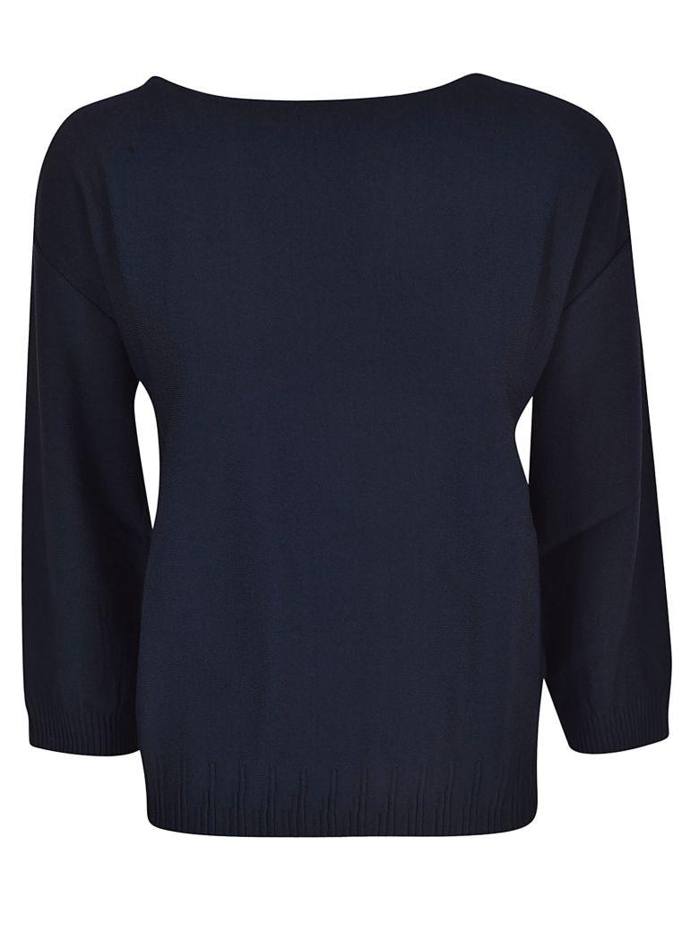 Roberto Collina Square Neck Sweater - Blue