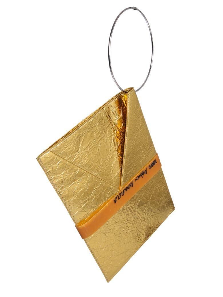 MM6 Maison Margiela Laminated Leather Bag - ORO