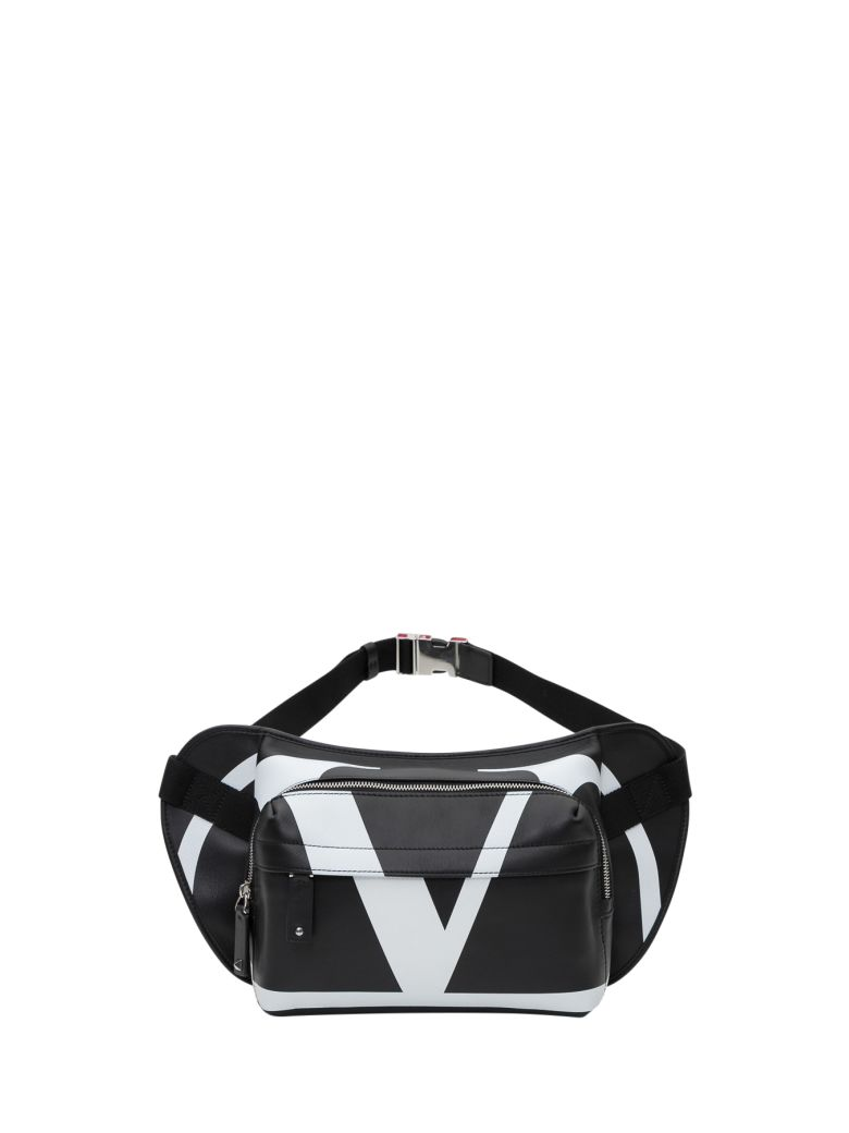 Valentino Garavani Vlogo Belt Bag - Black