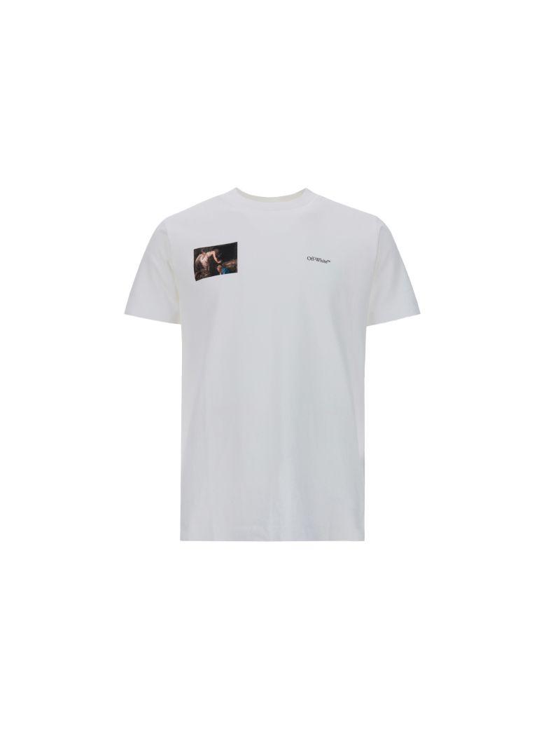 Off-White T-shirt - White black