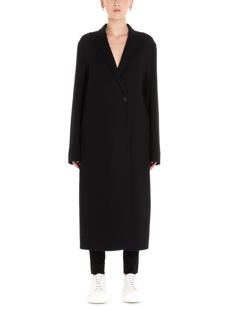 Jil Sander 'lebron' Coat - Black