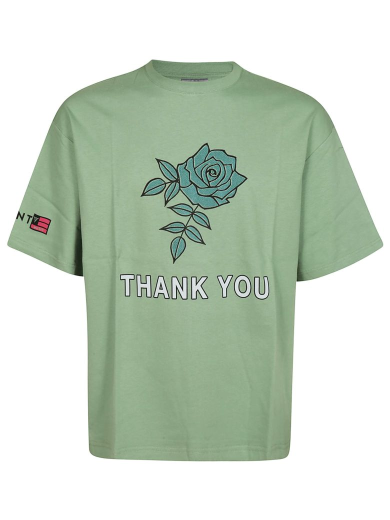 Lanvin Thank You T-shirt - Light Green