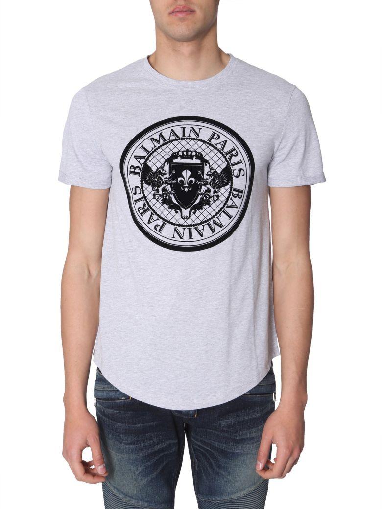 Balmain Slim Fit T-shirt - GRIGIO