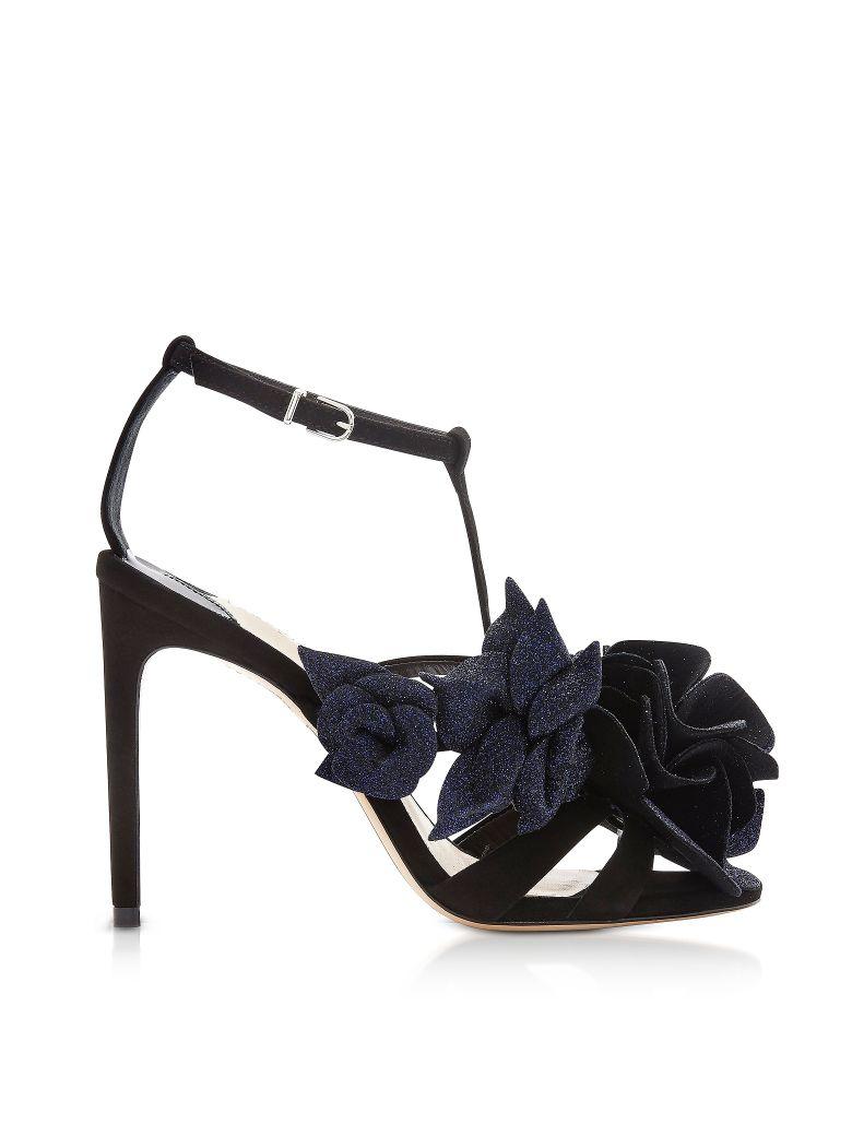 Sophia Webster Black & Midnight Jumbo Lilico Sandals - Black