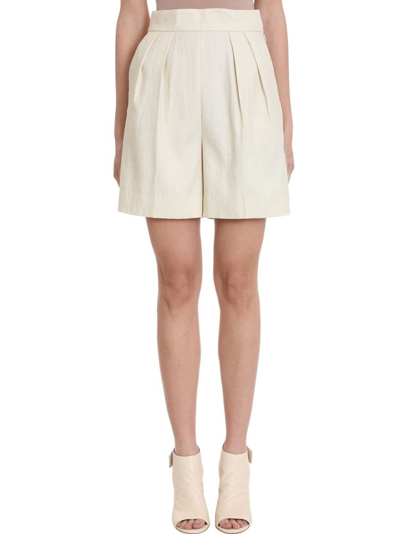 Theory Tapered Shorts - beige