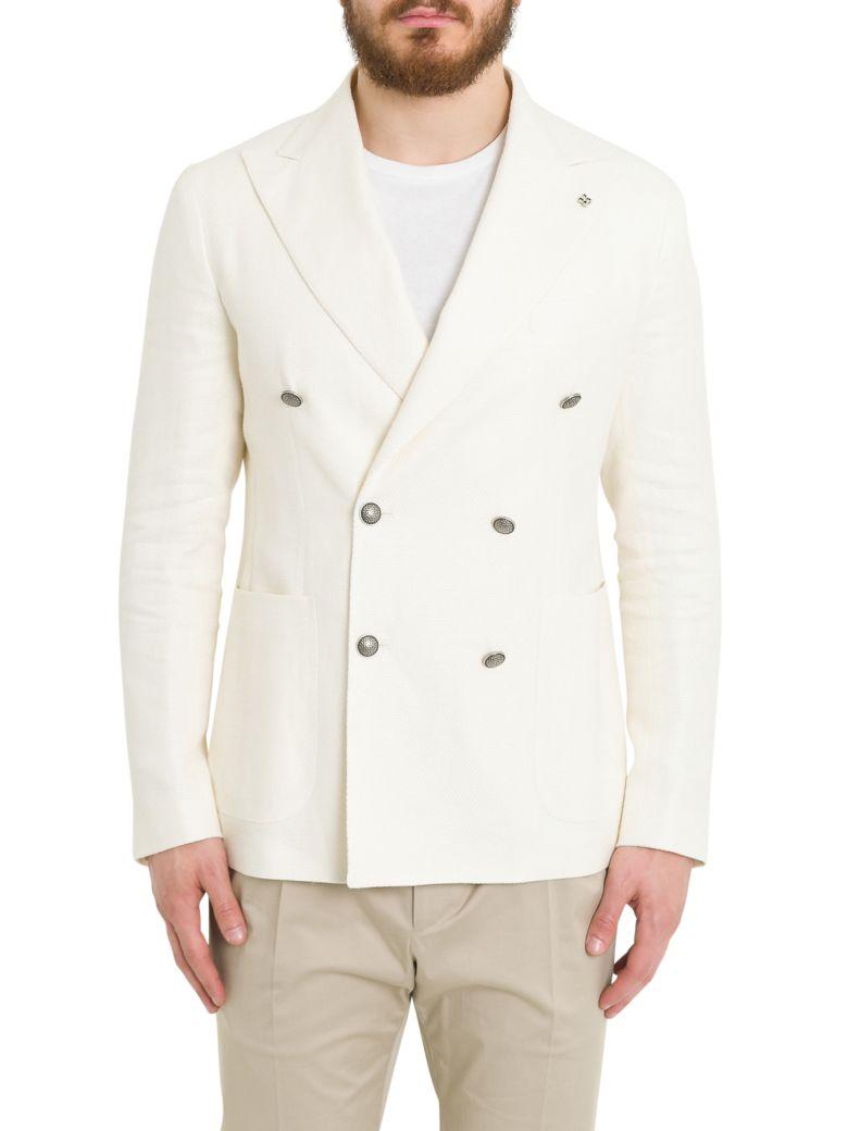 Tagliatore Double Breasted Blazer - Bianco