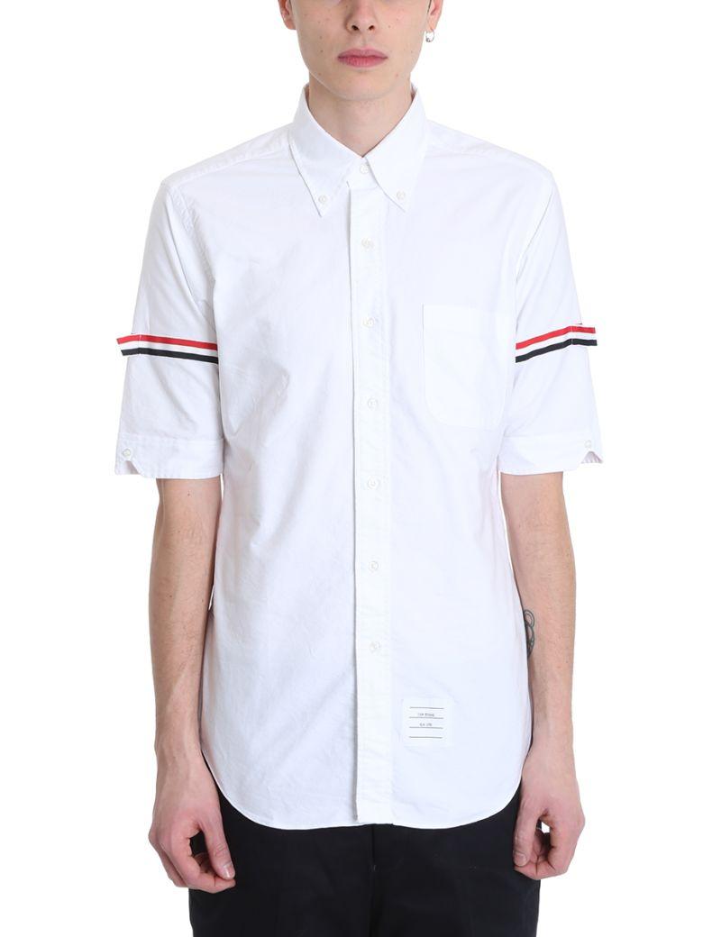 Thom Browne White Cotton Shirt - White