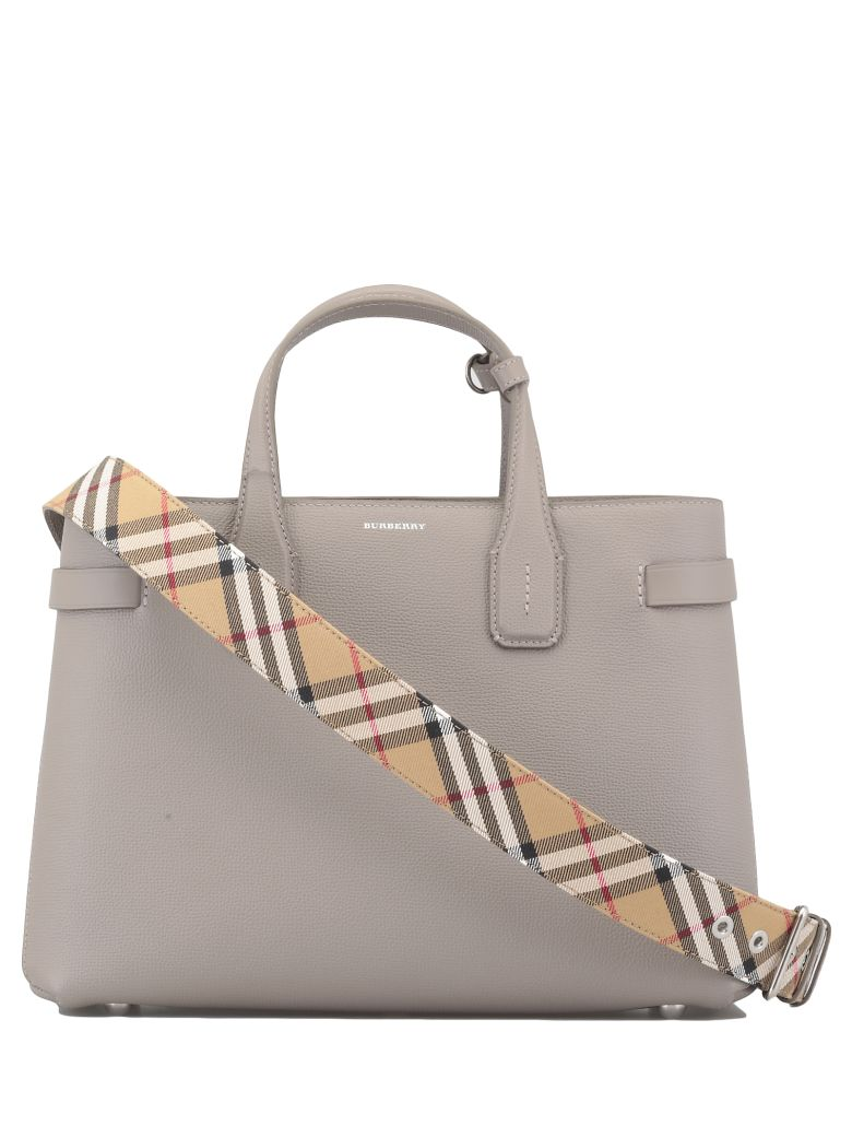 Burberry Banner Medium Bag - TAUPE BROWN