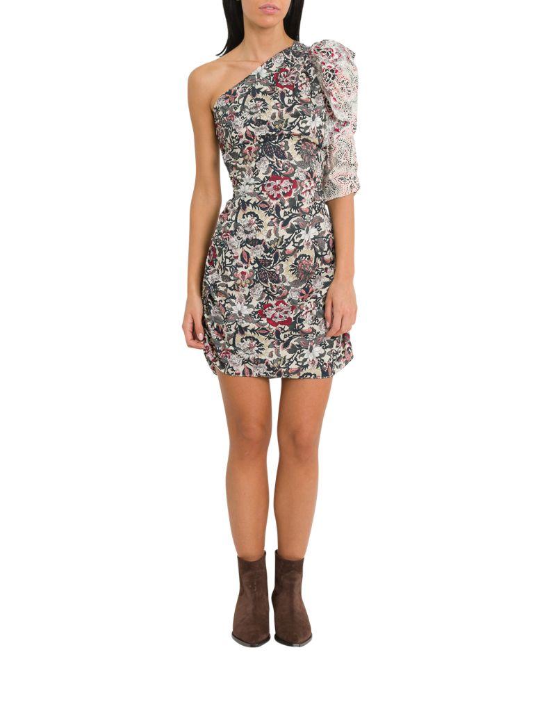 Isabel Marant Étoile Lilia One Sleeve Dress - Multicolor