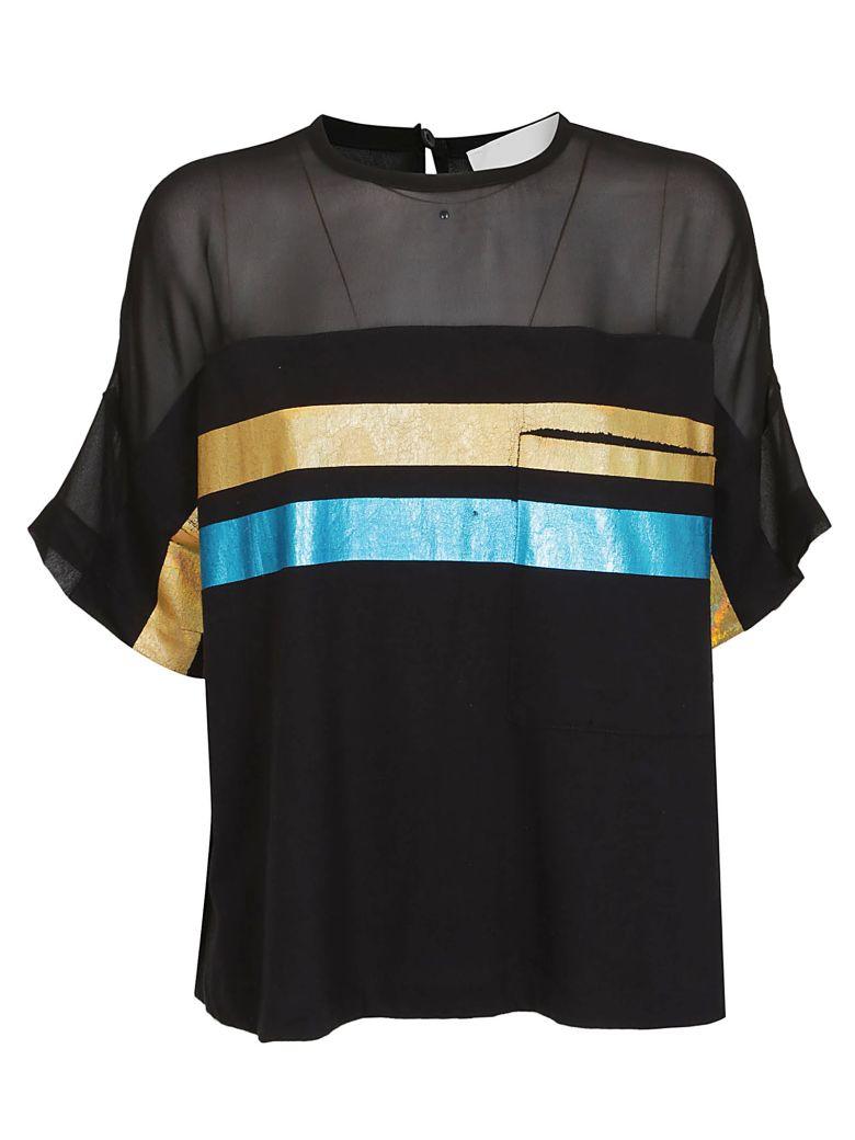 8PM Striped T-shirt - Black