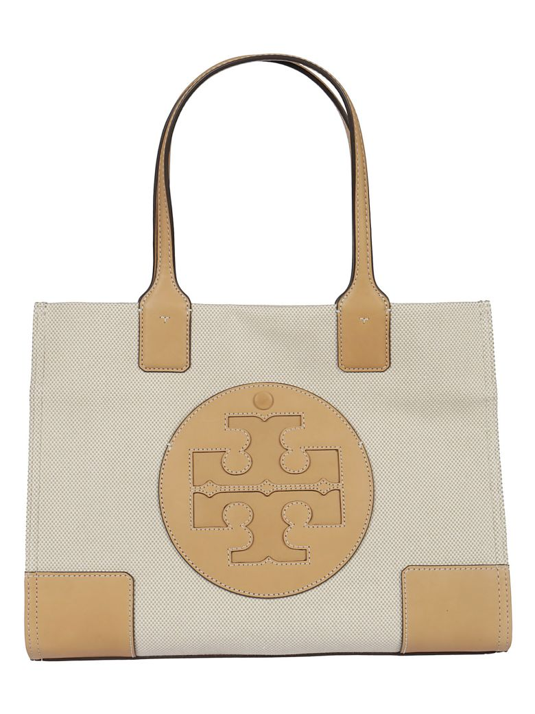 Tory Burch Classic Embroidered Tote - pink