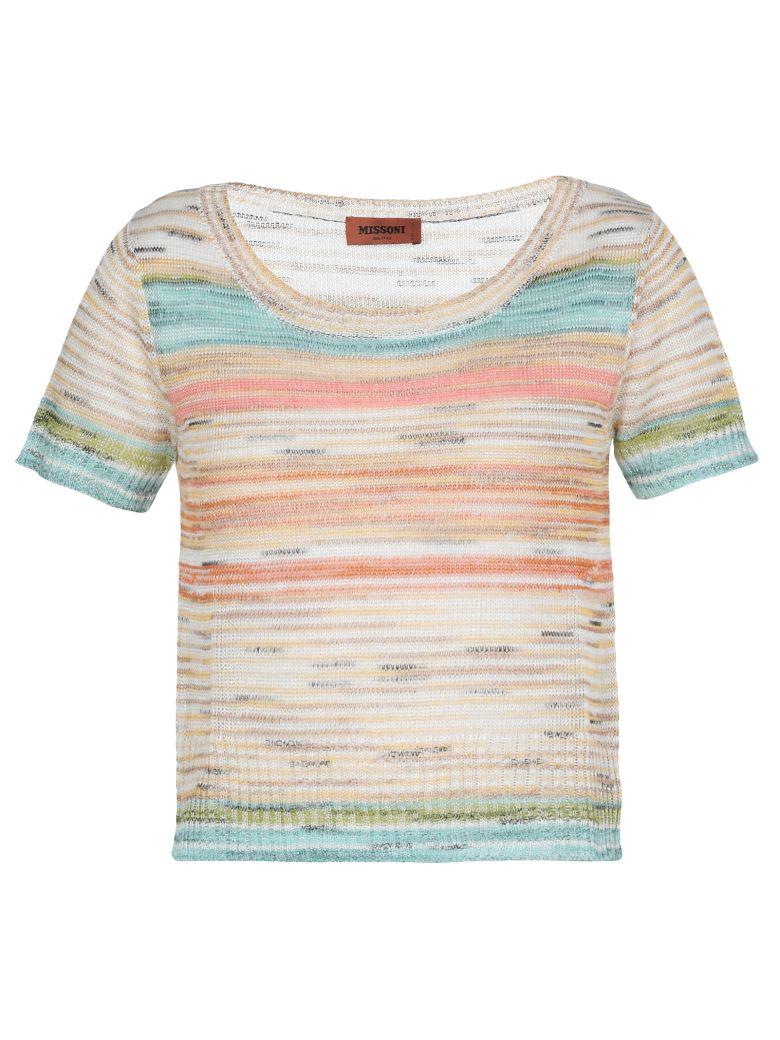 Missoni Knitted Sheer T Shirt - Basic