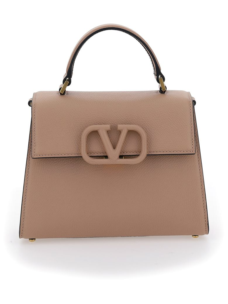 Valentino Garavani Small Handbag - Rose cannelle/clay