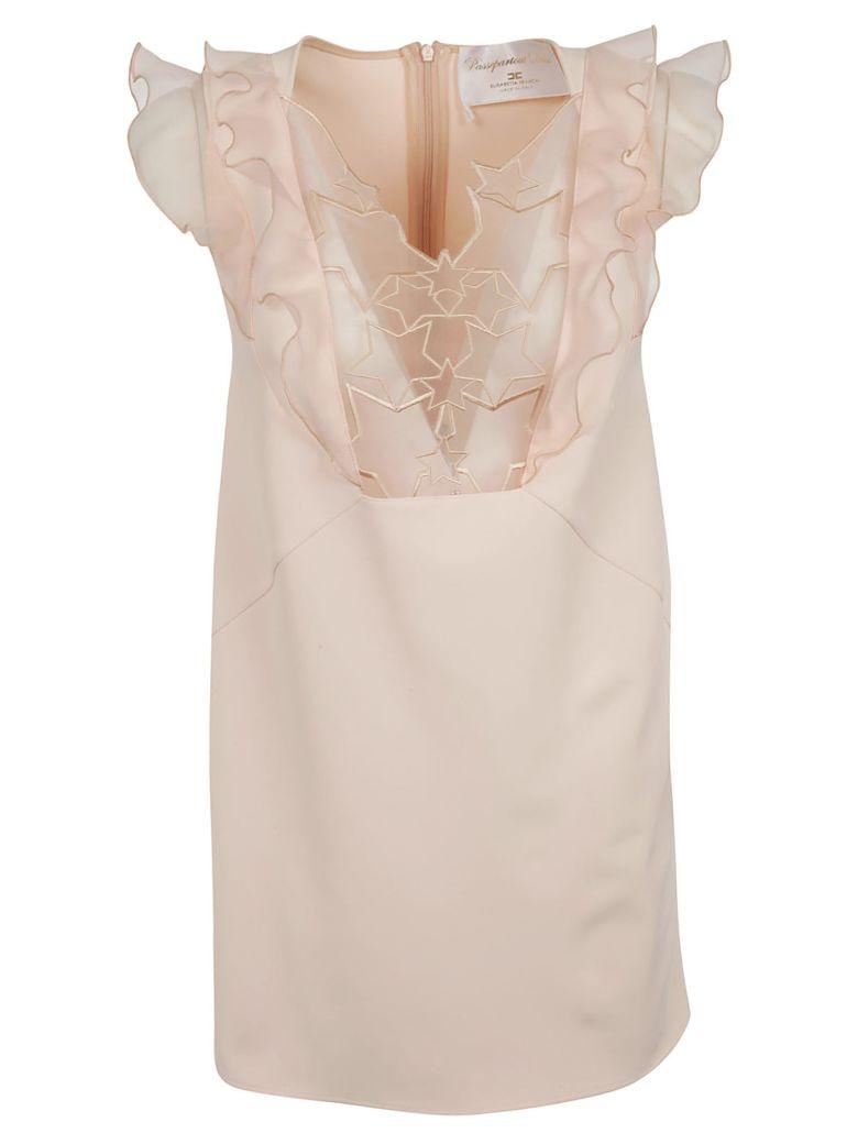 Elisabetta Franchi Celyn B. Elisabetta Franchi For Celyn B. Ruffled Detailed Dress - Pink