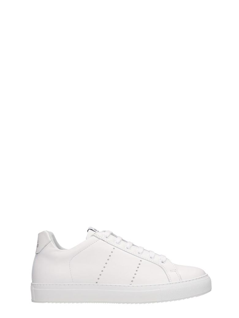 National Standard Edition 4 Sneakers In White Leather - white