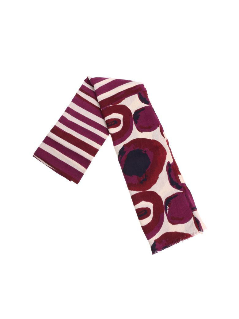 Altea Patterned Scarf - Purple