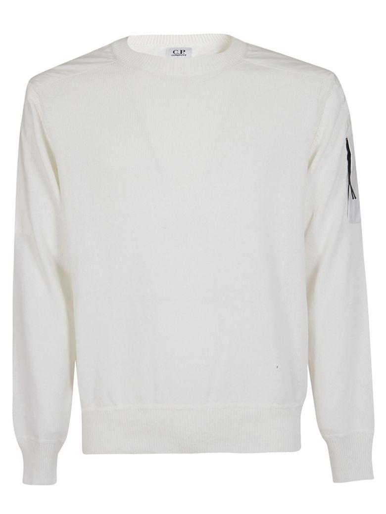 C.P. Company Shoulder Patch Sweater - Bianca