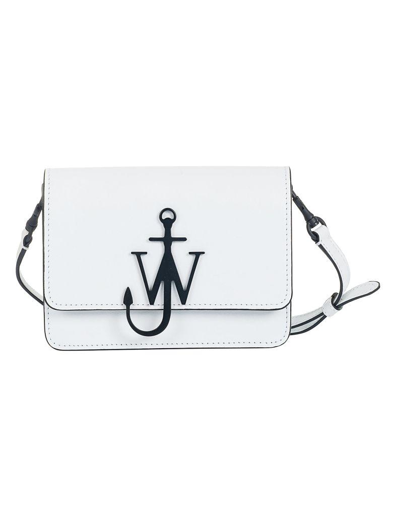 J.W. Anderson Jw Anderson Mini Logo Shoulder Bag - White Black