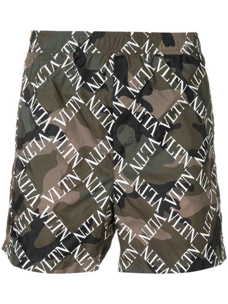 Valentino Vltn Logo Swim Shorts - Basic