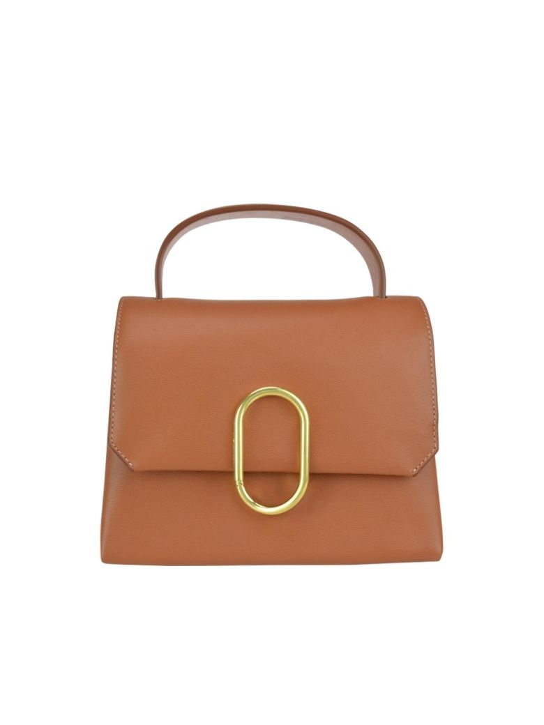 3.1 Phillip Lim Alix Mini Top Handle Satchel - Cognac