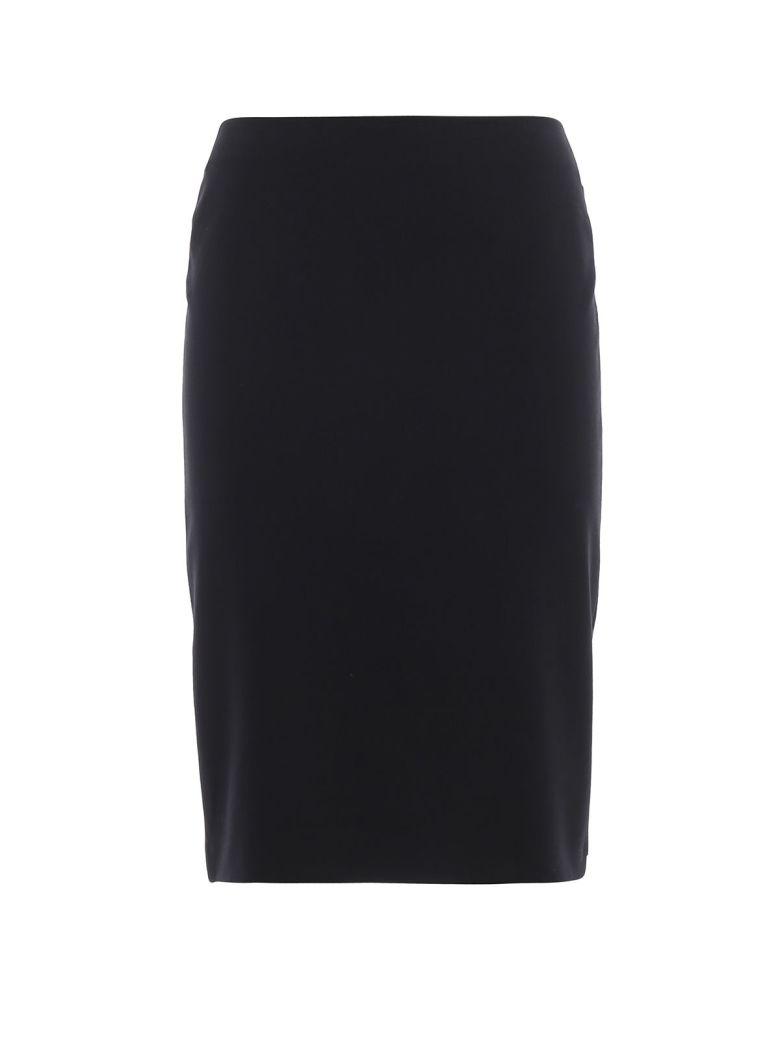 Emporio Armani Basic Midi Skirt - Nero