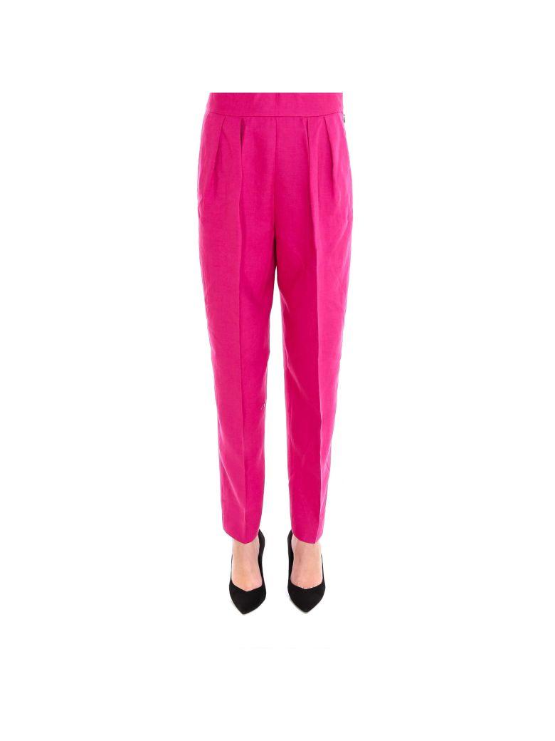 Theory Pleat Pant Pants - Pink